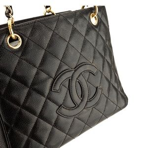 CHANEL Bags - Chanel PST Caviar - Mint Condition 2007